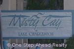 sign for Misty Cay