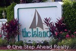 sign for Island, The of Lake Charleston