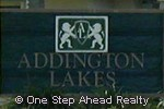 sign for Addington Lakes of Lake Charleston